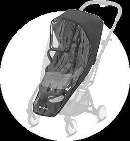 サイベックス イージーS ツイスト2用レインカバー 商品画像