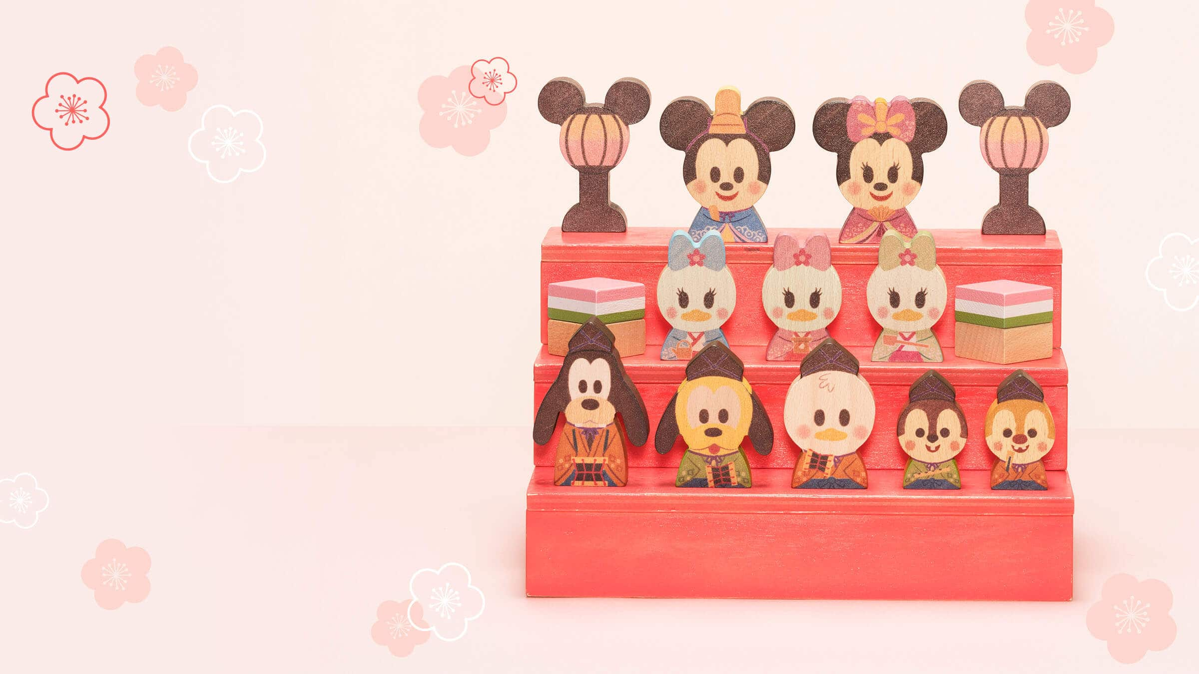 Disney KIDEA BLOCK ひなまつり商品イメージ