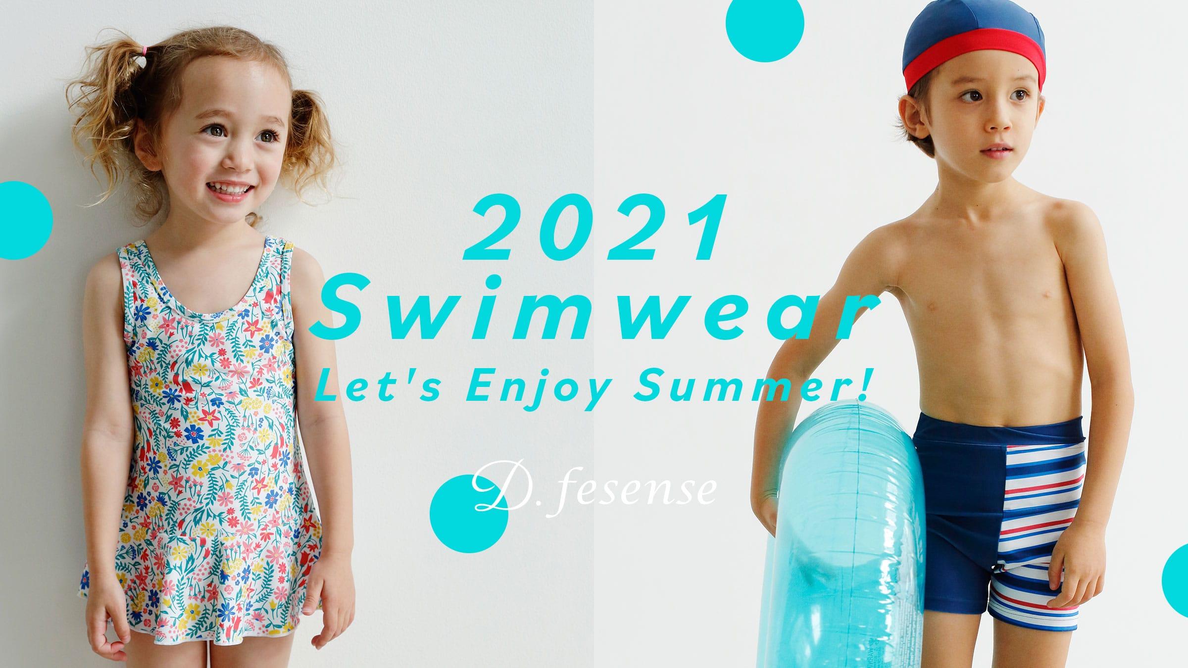 D.fesense 2021 Swimwear Let's Enjoy Summer!
