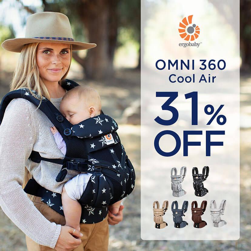 OMNI 360 クールエア 31%OFFセール