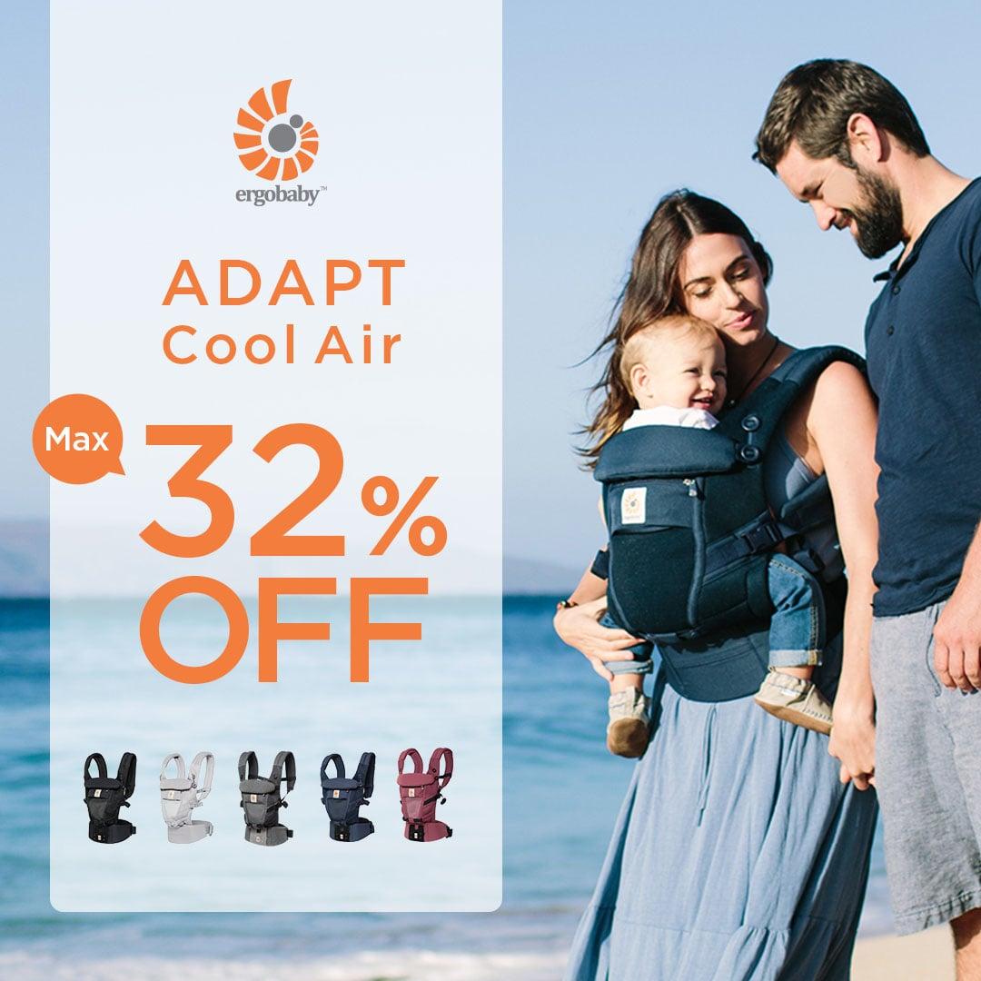 ADAPT クールエア 32%OFFセール